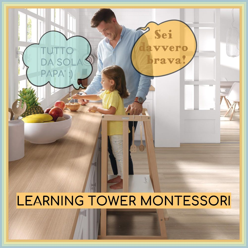 Learning Tower Montessori: perché acquistare la torre dell'apprendimento